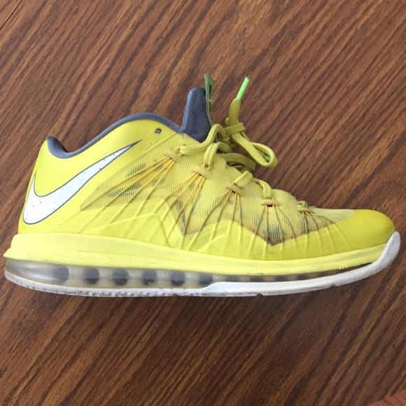 "45a2bf4ded10 Nike LeBron 10 Low ""Sonic Yellow"". M 5bafb15c035cf148c63adbfe"